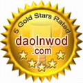 5 stars on daolnwod.com